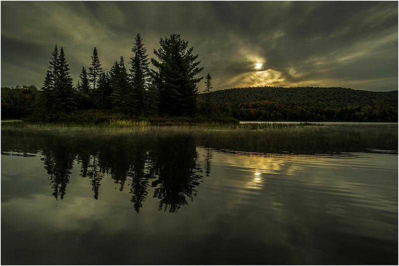 Adirondacks Cedar River Flow September 2015  Sunrise 7