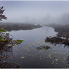 Adirondacks Cary Lake Morning Mist 34 September 2017