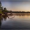 Adirondacks Forked Lake Morning Mist 37 July 2017