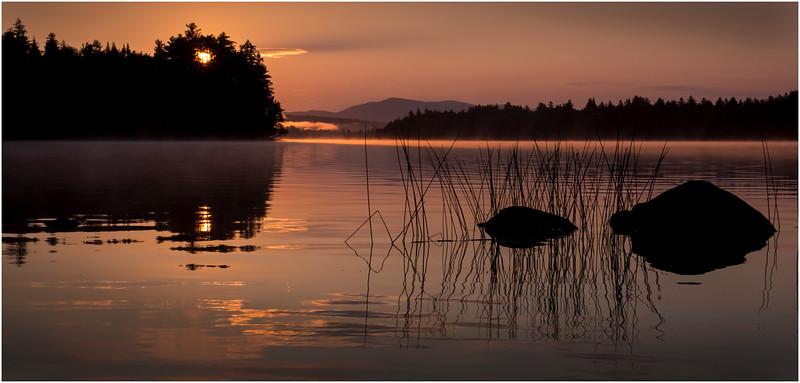 Adirondacks Forked Lake Morning Mist 21 July 2017