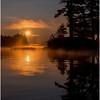 Adirondacks Forked Lake Morning Mist 29 July 2017