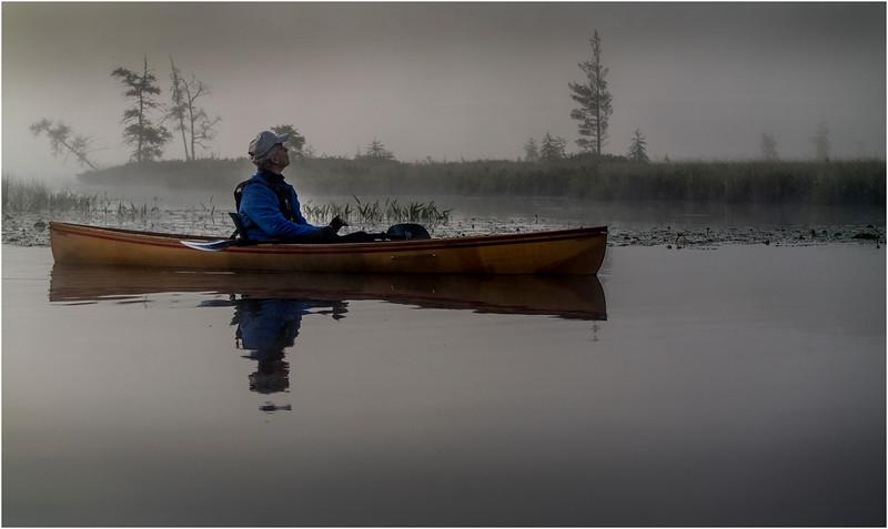Adirondacks Forked Lake July 2015 Morning Mist After Sunrise Tom Curley 4