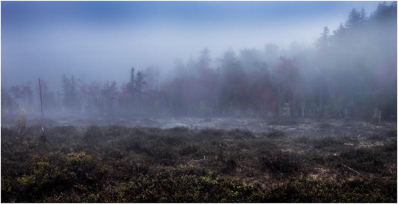 Adirondacks Cary Lake Morning Mist 36 September 2017