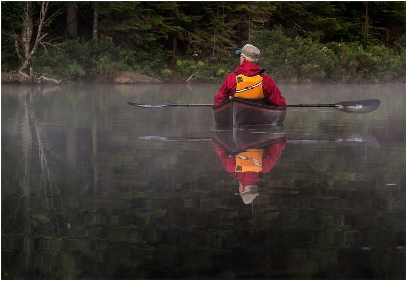 Adirondacks Forked Lake July 2015 Morning Mist After Sunrise Rick Rosen 9
