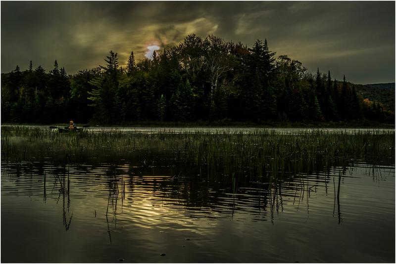 Adirondacks Cedar River Flow September 2015  Sunrise 3