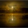 Adirondacks Lake Rondaxe Sunrise 23 July 2016