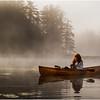 Adirondacks Bog River Morning Mist Susan Cohen Camera 2 August 2013