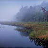 Adirondacks Cary Lake Morning Mist 15 September 2017