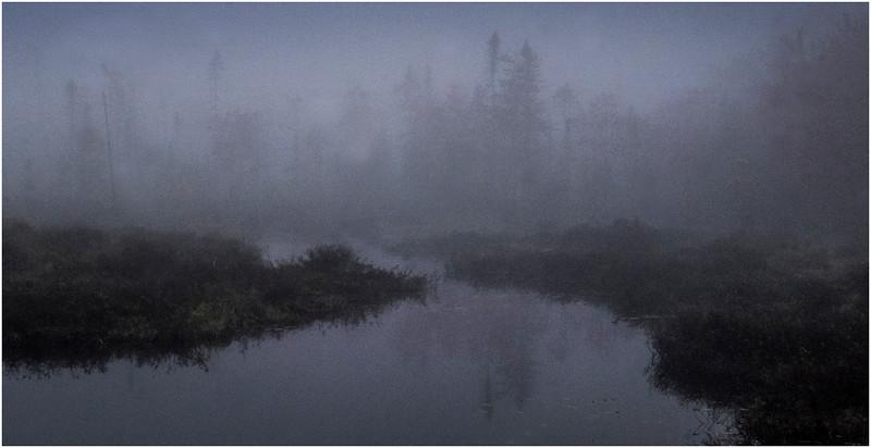 Adirondacks Cary Lake Morning Mist 66 September 2017