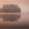 Adirondacks Rollins Pond Morning Mist 13 July 2019
