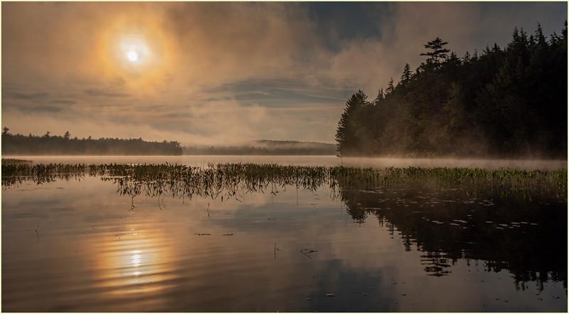 Adirondacks Lake Eaton Morning 26 July 2019