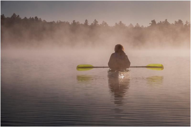 Adirondacks Rollins Pond Morning 20 August 2019