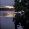 Adirondacks Newcomb Lake Morning Mist 5 July 2017