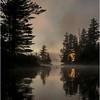 Adirondacks Forked Lake July 2015 Morning Mist Sunrise 6