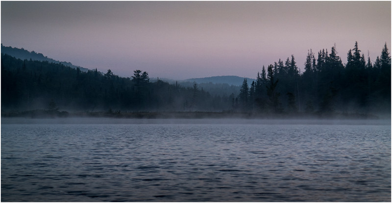 Adirondacks Forked Lake Early Light 1 August 2016