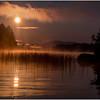 Adirondacks Forked Lake Morning Mist 31 July 2017