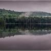 Adirondacks Newcomb Lake Morning Mist 37 July 2017