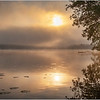 Adirondacks Rollins Pond Morning Mist 30 July 2019