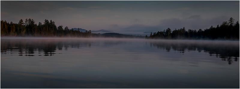Adirondacks Forked Lake Morning Mist 25 July 2017