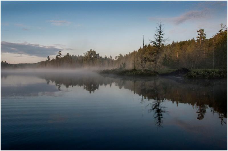 Adirondacks Raquette Lake August 2008 Sagamore Inlet Looking South