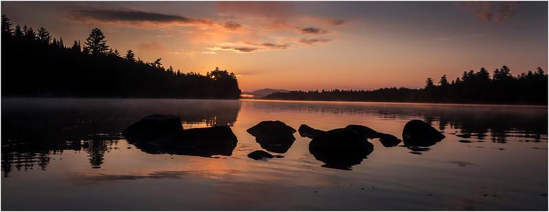 Adirondacks Forked Lake Morning Mist 20 July 2017