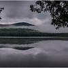 Adirondacks Newcomb Lake Morning Mist 35 July 2017