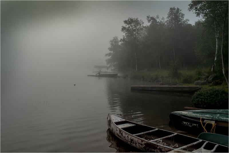 Adirondacks Blue Mountain Lake July 2015 Morning Light Prospect Point Dock 3