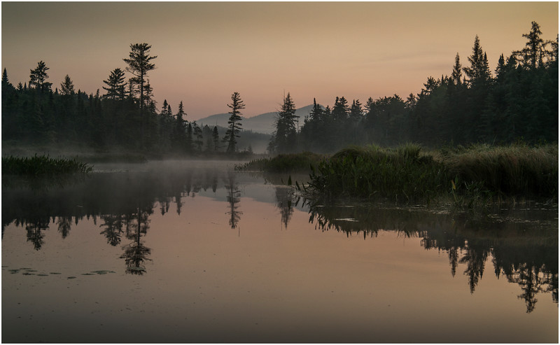 Adirondacks Forked Lake Early Light 4 August 2016