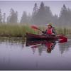 Adirondacks Newcomb Lake Morning Mist 22 July 2017