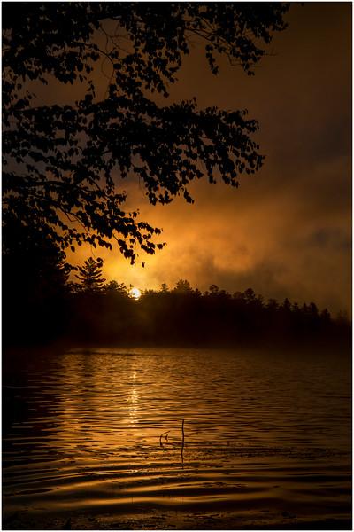 Adirondacks Lake Durant Sunrise 13 September 25 2016