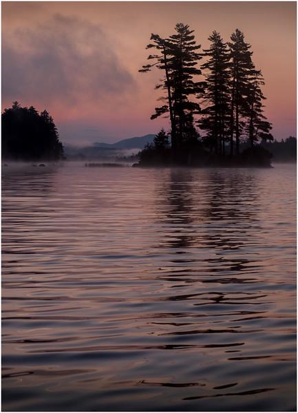Adirondacks Forked Lake Morning Mist 10 July 2017