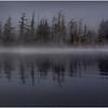 Adirondacks Bog River Morning Mist 7 August 2013