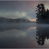 Adirondacks Lake Rondaxe Sunrise 3 July 2016