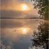 Adirondacks Rollins Pond Morning Mist 31 July 2019