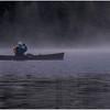 Adirondacks Newcomb Lake Morning Mist 7 July 2017