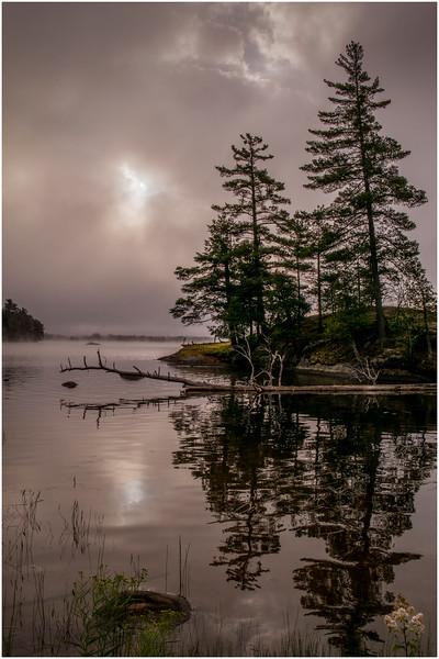 Adirondacks Chateaugay Lake Duck Island Bay 25 July 2016