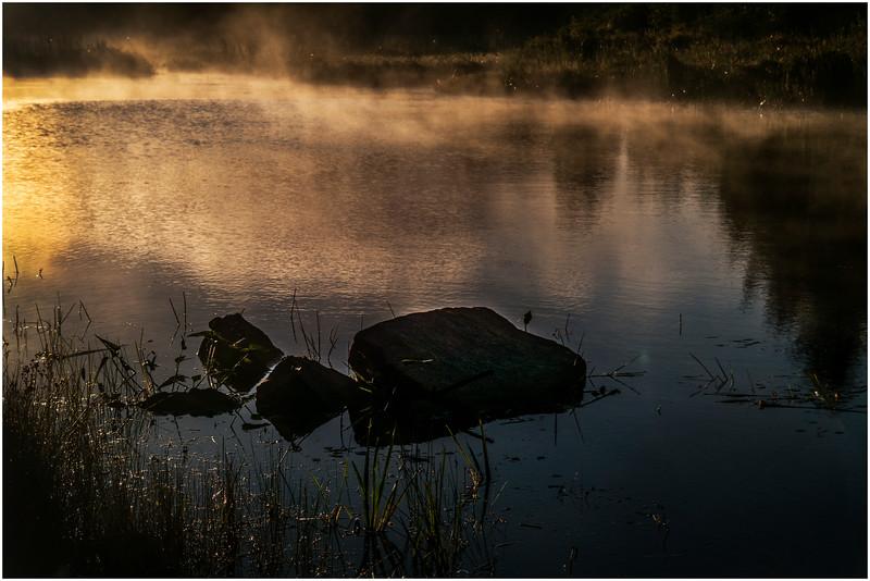 Adirondacks Lake Durant Morning Light 1 September 25 2016