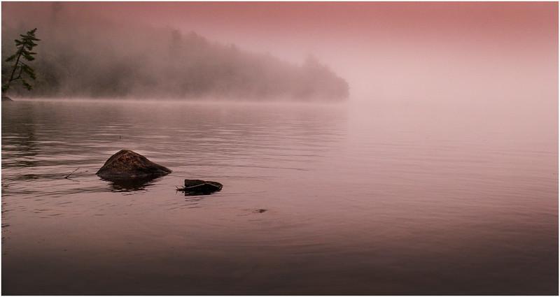 Adirondacks Chateaugay Lake Before Sunrise 1 July 2016