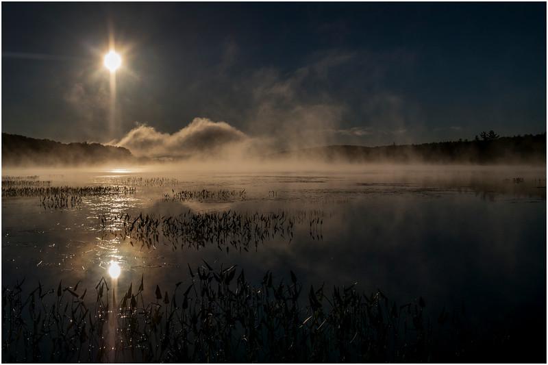 Adirondacks Lake Durant Sunrise 1 September 25 2016