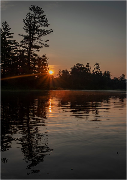 Adirondacks Round Lake Morning 9 August 2019