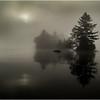 Adirondacks Blue Mountain Lake Sun Rocks and Islands 2 July 2013