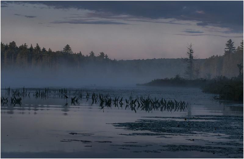 Adirondacks Raquette Lake August 2008 Mist Before Sunrise 3