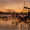 Adirondacks Utowana Lake October 2009 Mist Before Sunrise