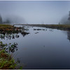 Adirondacks Cary Lake Morning Mist 21 September 2017