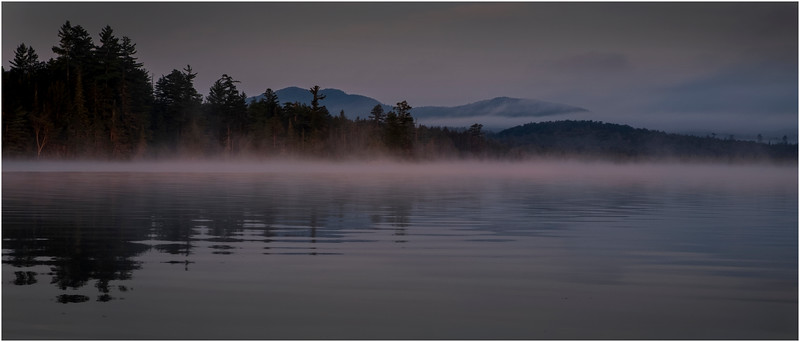 Adirondacks Forked Lake Morning Mist 26 July 2017