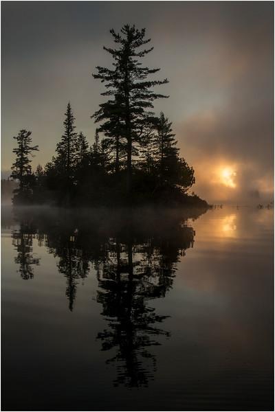 Adirondacks Forked Lake July 2015 Morning Mist Sunrise 9
