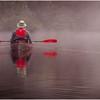 Adirondacks Newcomb Lake Morning Mist 26 July 2017
