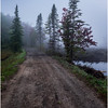 Adirondacks Cary Lake Morning Mist 22 September 2017