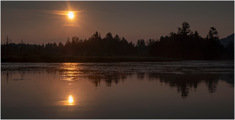 Adirondacks Round Lake Morning 15 August 2019
