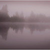 Adirondacks Newcomb Lake Morning Mist 18 July 2017